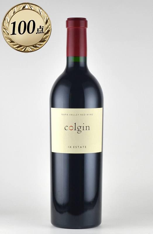 "WA100点 コルギン レッドワイン ""IX(ナンバーナイン)・エステート"" レッドワイン ナパヴァレー 2015 カリフォルニア ナパバレー ワイン"
