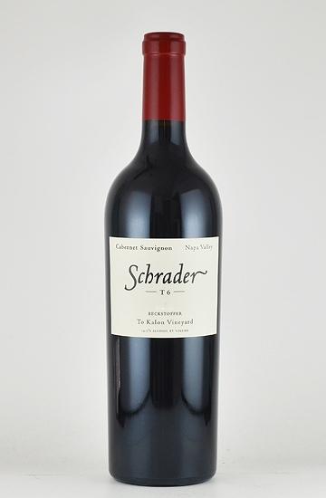 """シュレーダー カベルネソーヴィニヨン """"T6 ベクストファー・トカロン・ヴィンヤード"""" ナパヴァレー[2009][カリフォルニア][ナパバレー][ワイン]"""