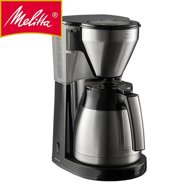【送料無料】メリタ イージー トップ サーモ ブラック Melitta コーヒーメーカー LKT-1001 アイスコーヒーメーカー