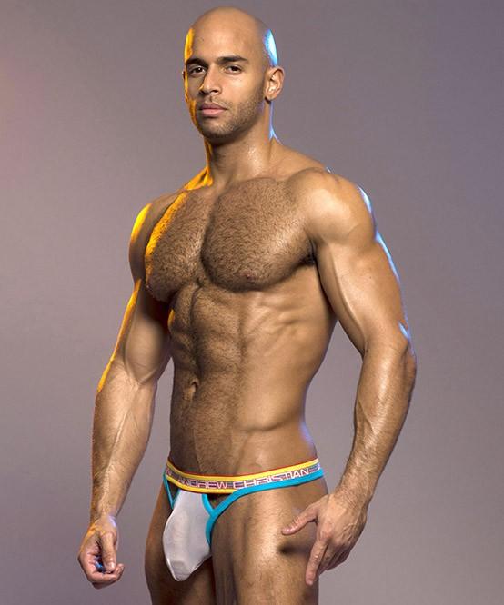 安德鲁 · 基督教安德鲁基督教男子男性内衣几乎不然孩子几乎光着身子跳线丁字裤 T 回 AC9760