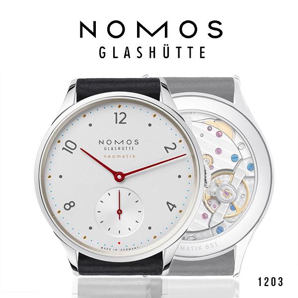 ノモス NOMOS ミニマティック 1203 メンズ 腕時計 MM130011W2【メーカー国際保証2年間付き】Minimatik スモールセコンド 35.5mm 時計 ドイツ製 自動巻き(お取寄せ商品)