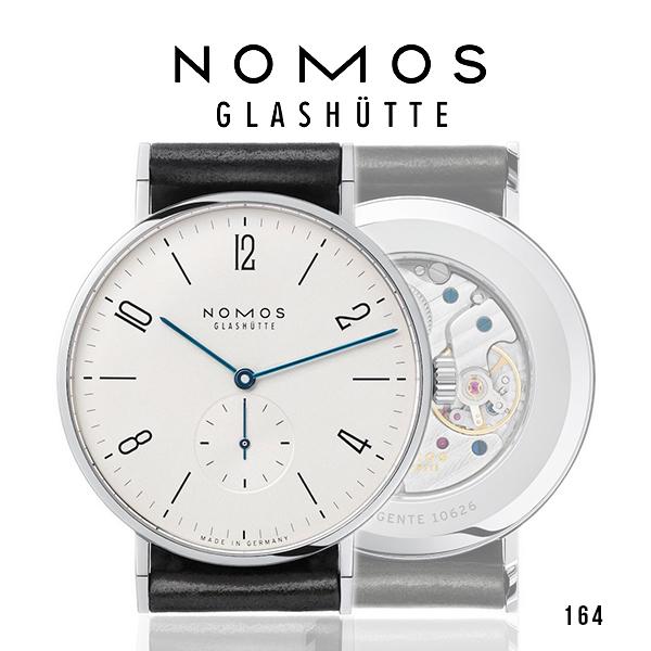 ノモス NOMOS タンジェント38 メンズ 腕時計【メーカー国際保証2年間付き】Tangente スモールセコンド 37.5mm TN1AT1W238(164)ホワイト×ブラック 時計 ドイツ製 GLASHUTTE 手巻き