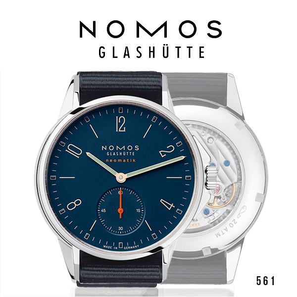 ノモス NOMOS 561 アホイ ネオマティック アトランティック メンズ 腕時計 AH130011AT2【メーカー国際保証2年間付き】20気圧 時計 Ahoi ドイツ製 ダイビング 自動巻き (お取寄せ商品)