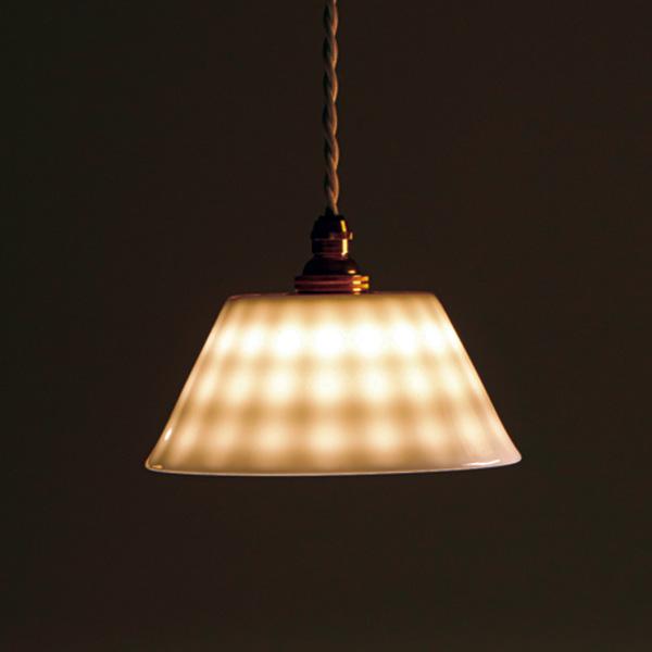 小田陶器HAKUJI LAMP frill 平型/美濃焼/日本製