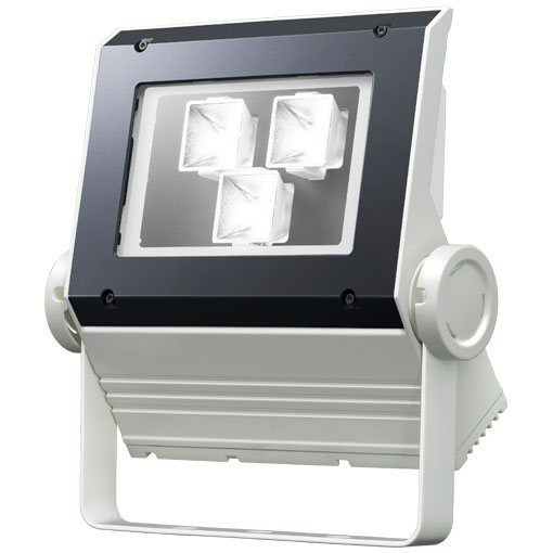 【メーカー直送】2個入 岩崎電気製 LEDフラッドネオ 90クラス(中角タイプ)(昼白色タイプ)【屋外・屋内用】(電源ユニット内蔵形)本体色:ホワイト 品番:ECF0997N/SAN8/W