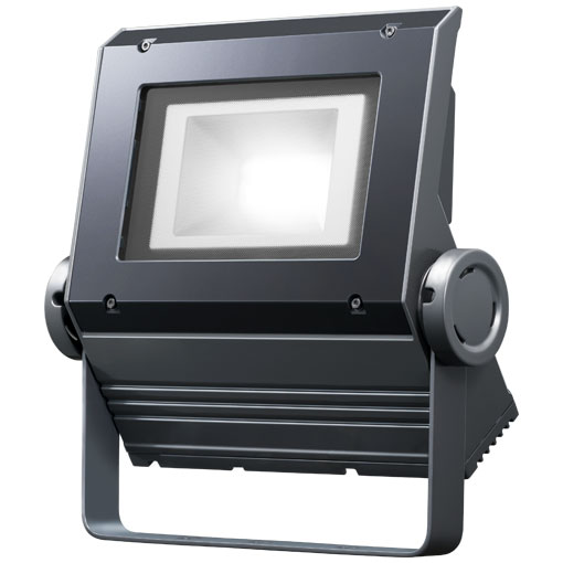 【メーカー直送】岩崎電気製 LEDフラッドネオ 90クラス(超広角タイプ)(昼白色タイプ)【屋外・屋内用】(電源ユニット内蔵形)本体色:ダークグレー 品番:ECF0995N/SAN8/DG