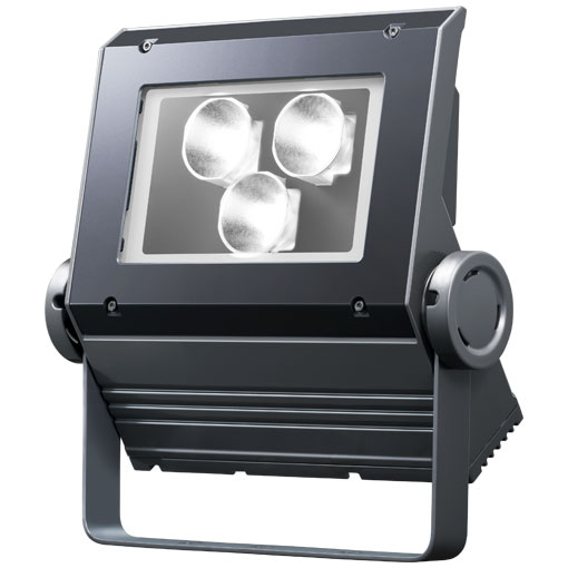 【メーカー直送】2個入 岩崎電気製 LEDフラッドネオ 70クラス(挟角タイプ)(昼白色タイプ)【屋外・屋内用】(電源ユニット内蔵形)本体色:ダークグレー 品番:ECF0798N/SAN8/DG
