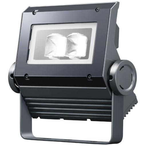 【メーカー直送】岩崎電気製 LEDフラッドネオ 40クラス(広角タイプ)(昼白色タイプ)【屋外・屋内用】(電源ユニット内蔵形)本体色:ダークグレイ 品番:ECF0496N/SAN8/DG