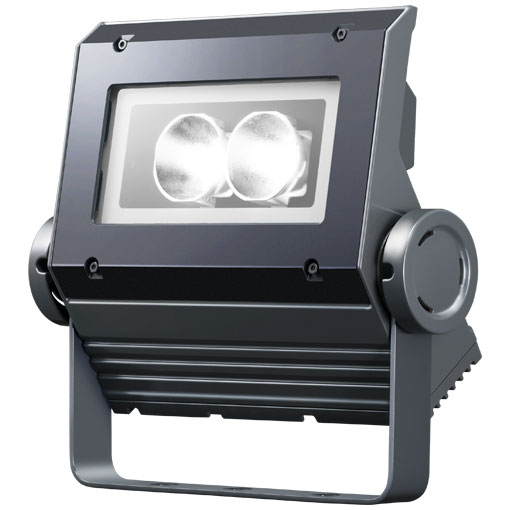 【メーカー直送】3個入 岩崎電気製 LEDフラッドネオ 30クラス(挟角タイプ)(昼白色タイプ)【屋外・屋内用】(電源ユニット内蔵形)本体色:ダークグレイ 品番:ECF0398N/SAN8/DG