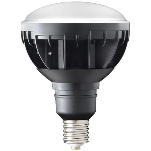 【メーカー直送】岩崎電気製 LEDアイランプ 33W 〔E39口金形〕(昼白色タイプ)(黒色塗装)【屋外・屋内用】品番:LDR33N-H/E39B750
