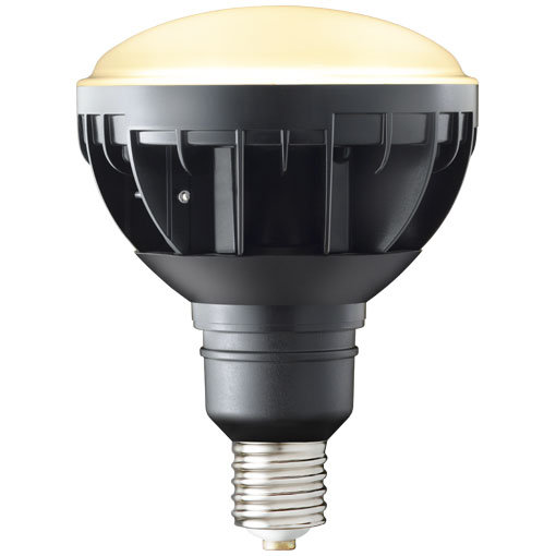 【メーカー直送】岩崎電気製『LEDアイランプ』 30W 〔 E39 口金形〕アイランプ (電球色タイプ)(黒色塗装)【屋外・屋内用】品番:LDR30L-H-E39/B(W)827 LED電球 白熱電球 LED屋外照明 LED照明器具 LEDライト 業務用 小型 コンパクト 軽量 屋内 屋外 サインボード