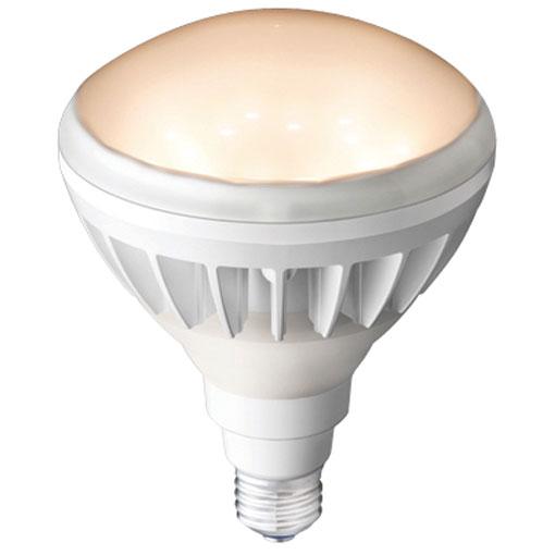 【メーカー直送】岩崎電気製 LEDアイランプ10個入 14W 〔E26口金形〕(電球色タイプ)(白色塗装)【屋外・屋内用】品番:LDR14L-H/W830