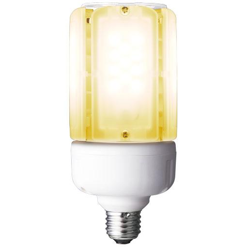 【メーカー直送】岩崎電気 ライトバルブK 28W(電球色)〔E26口金〕(電源ユニット内蔵形)【屋外・屋内用】品番:LDT100-242V28L-G/H100