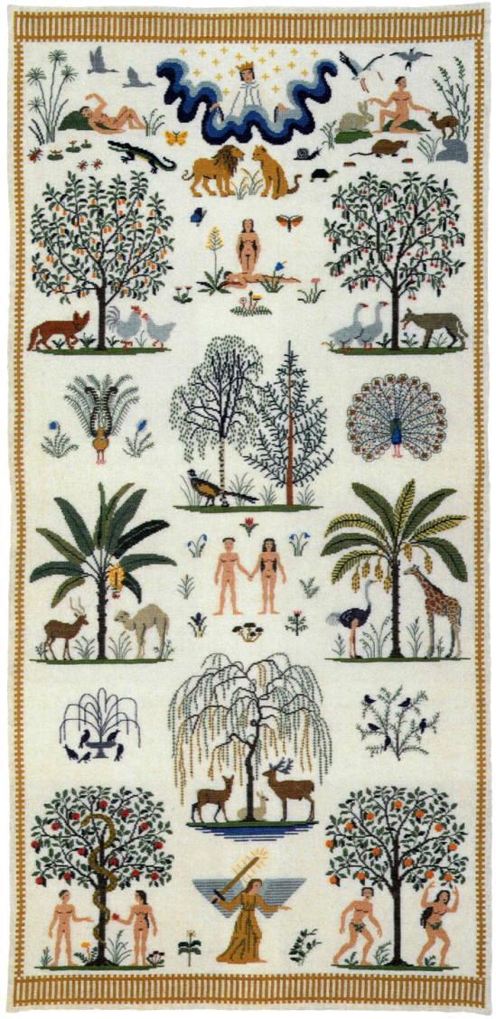 フレメ クロスステッチ刺繍キット 【エデンの園】 デンマーク 北欧 上級者 30-6443