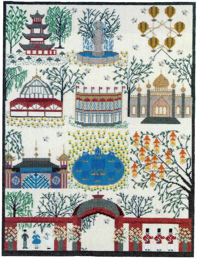 フレメ クロスステッチ刺繍キット 【チヴォリ】 輸入 デンマーク 北欧 上級者 30-6070