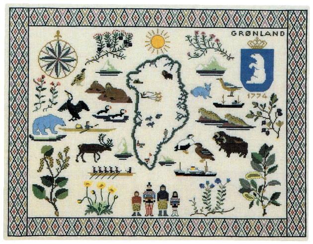 フレメ クロスステッチ刺繍キット 【グリーンランド】デンマーク 北欧 輸入 上級者 30-2307