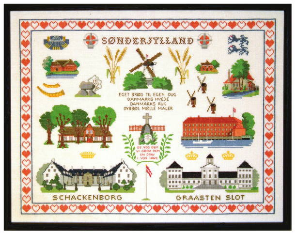 フレメ クロスステッチ刺繍キット 【センデリュラン】 デンマーク 北欧 輸入 上級者 30-5203