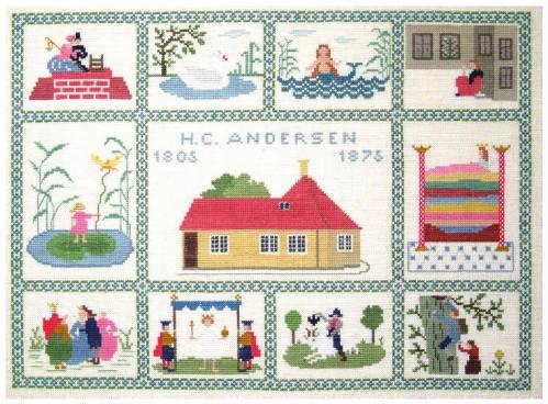 フレメ(Fremme) クロスステッチ刺繍キット 【アンデルセン】 輸入 デンマーク 北欧 上級者 30-2336,01