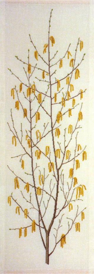 フレメ クロスステッチ刺繍キット 【ハシバミ】 デンマーク 北欧 上級者 輸入 30-4794