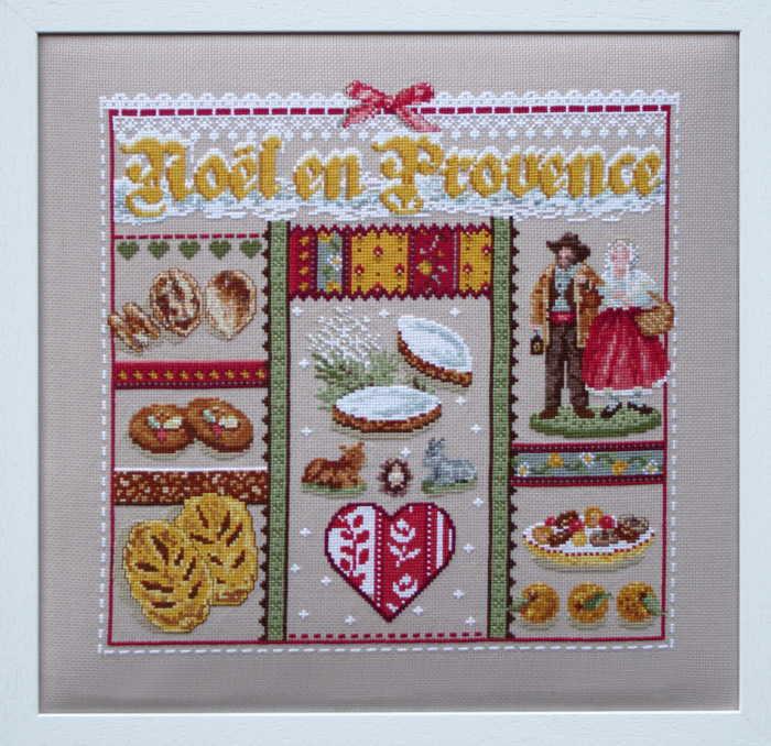 卓抜 Madame La Fee マダムラフェ クロスステッチ刺繍キット 輸入 プロバンスのクリスマス Lin 上級者 フランス おすすめ特集