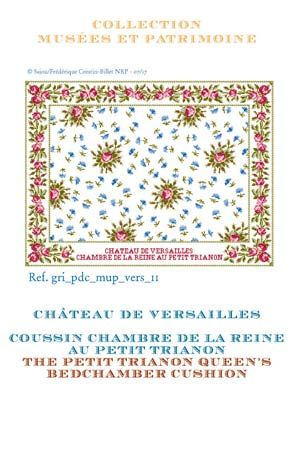 Æ¥½å¤©å¸'å´ Dm便対応 Sajou ś³æ¡ˆ ¯イーンズクッション ×チトリアノン Grille De Point De Croix Coussin Chambre De La Reine Petit Trianon µジュー Õランス áゾンサジュー Gri Pdc Mup Vers 11 ¯ロスステッチ手芸雑貨シーボンヌ
