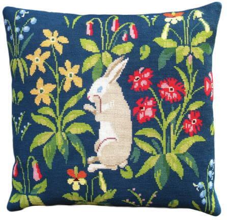フレメ クロスステッチ輸入刺繍キット Kanin uldgarn ウサギのウール Haandarbejdets Fremme デンマーク 北欧 上級者 GB 20-6835