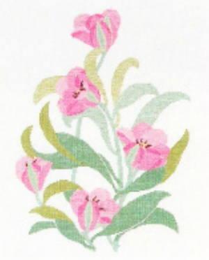 【DM便対応】フレメ Rosa tulipan ローザ・チューリップ 10B キット Haandarbejdets Fremme クロスステッチ デンマーク 北欧 ギルド 刺しゅう VO 30-6021