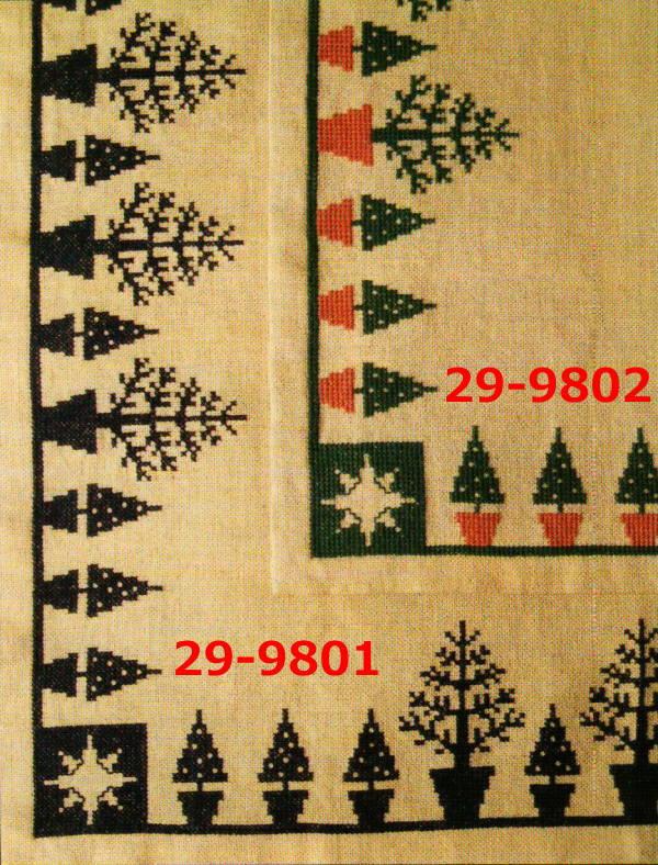 【送料無料】フレメ Juletraeer i potte,grøn/terracotta ポットのクリスマスツリー/グリーン,テラコッタ Haandarbejdets Fremme クロスステッチ Hes. デンマーク 北欧 ギルド 刺しゅう IMR 29-9802