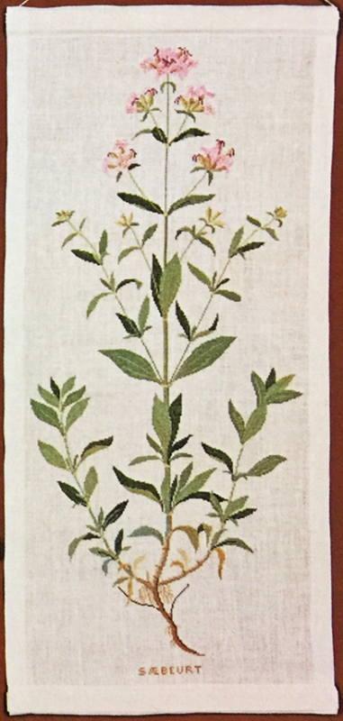 フレメ クロスステッチ刺繍キット サボンソウ Saponaria officinalis 輸入 Haandarbejdets Fremme デンマーク 北欧 10B GB 上級者 30-4426