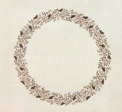 【送料無料】フレメ Gråspurve brun イエスズメ/ブラウン 10B キット Haandarbejdets Fremme クロスステッチ 刺しゅう デンマーク 北欧 ギルド 06-5388