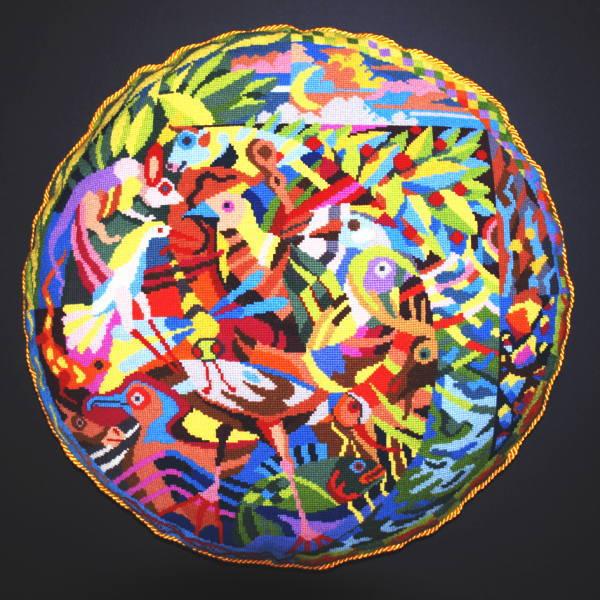 【送料無料】フレメ En sommernatsdrøm,uldgarm ST.Z. 夏の夜の夢/ウール キット Haandarbejdets Fremme デンマーク 北欧 ギルド 刺しゅう UR 20-9957