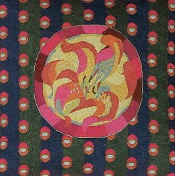 【送料無料】フレメ Lolje h;rgarn ST.14 リリー/亜麻糸 キット Haandarbejdets Fremme デンマーク 北欧 ギルド 刺しゅう DR.M 24-6381