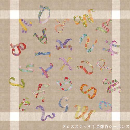 クロスステッチ フレンチノット刺繍キット 輸入 ルボヌールデダム Le Bonheur des Dames 刺しゅう Tablecloth Primer Floral Ribbon フローラルリボンのテーブルクロス フランス 上級者 6038