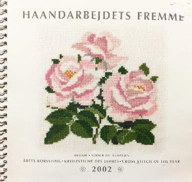 【中古】フレメ 2002 カレンダー VERNER JUL ANDERSEN 図案 Haandarbejdets Fremme チャート KREUZSTITCH クロスステッチ デンマーク 北欧