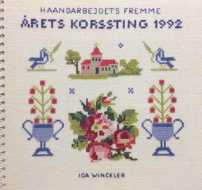 【中古】フレメ 1992 カレンダー Ida Winckler 図案 Haandarbejdets Fremme チャート KREUZSTITCH クロスステッチ デンマーク 北欧 刺しゅう