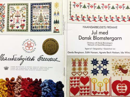 Shibonnu I Embroider フレメ Jul Med Dansk Blomstergarn Design