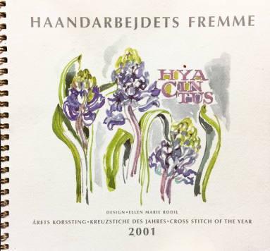 【中古】フレメ 2001 クロスステッチ刺繍図案カレンダー ELLEN MARIE RODIL 北欧 Haandarbejdets Fremme デンマーク