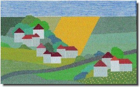 【送料無料】BAHMANN バーマン Nordische Landschaft 北欧の風景 12B クロスステッチ キット ドイツ 刺しゅう 30-9068