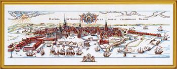 【送料無料】EVA ROSENSTAND コペンハーゲン1611 Copenhagen 1611 クロスステッチ キット デンマーク 北欧 刺しゅう 12-019