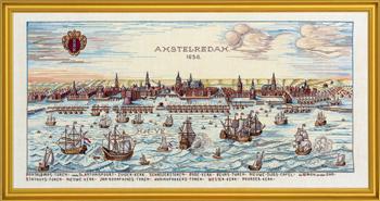 【送料無料】EVA ROSENSTAND アムステルダム Amsterdam クロスステッチ キット デンマーク 北欧 刺しゅう 12-318