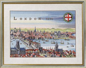 【送料無料】EVA ROSENSTAND ロンドン London クロスステッチ キット デンマーク 北欧 刺しゅう 12-353