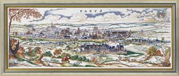 【送料無料】EVA ROSENSTAND パリ Paris クロスステッチ キット デンマーク 北欧 刺しゅう 12-393