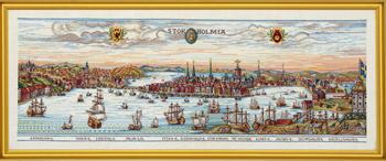 【送料無料】EVA ROSENSTAND ストックホルム Stockholm クロスステッチ キット デンマーク 北欧 刺しゅう 12-437