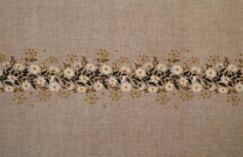 【送料無料】EVA ROSENSTAND 白菊 White chrysanthemum クロスステッチ キット デンマーク 北欧 刺しゅう 12-4403