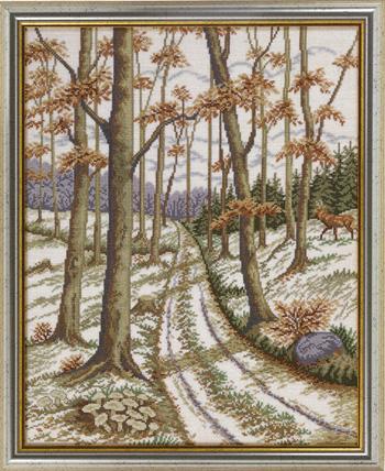 【送料無料】EVA ROSENSTAND 秋の田園風景 Autumn idyll クロスステッチ キット デンマーク 北欧 刺しゅう 12-630
