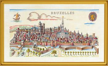 【送料無料】EVA ROSENSTAND ブリュッセル Bruxelles クロスステッチ キット デンマーク 北欧 刺しゅう 14-051