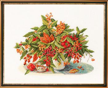 EVA ROSENSTAND 黄金の果実 Golden berries クロスステッチ キット デンマーク 北欧 刺しゅう 14-261 【送料無料】