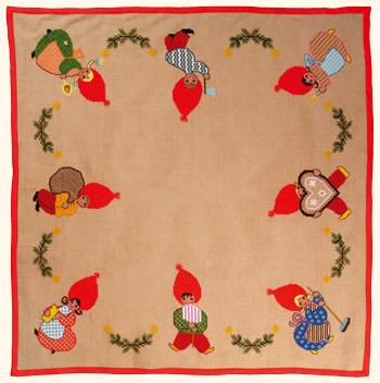 【送料無料】EVA ROSENSTAND クリスマスツリー Christmas tree nose キット デンマーク 北欧 刺しゅう 49-214