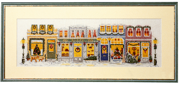 ペルミン デンマーク クロスステッチ刺繍キット クリスマスストリート Permin of Copenhagen Copenhagen デンマーク 北欧 上級者 上級者 輸入 70-4225, 京都匙亀:1410e70d --- sunward.msk.ru