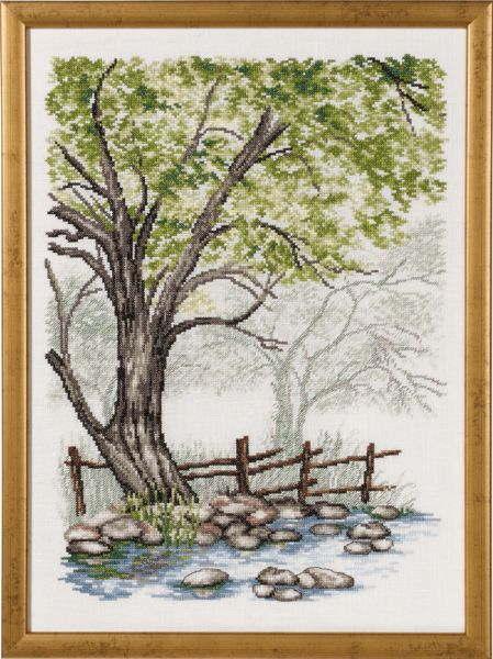 PERMIN 夏 Sommer クロスステッチ 刺繍 キット デンマーク ペルミン 90-7430 【DM便対応】